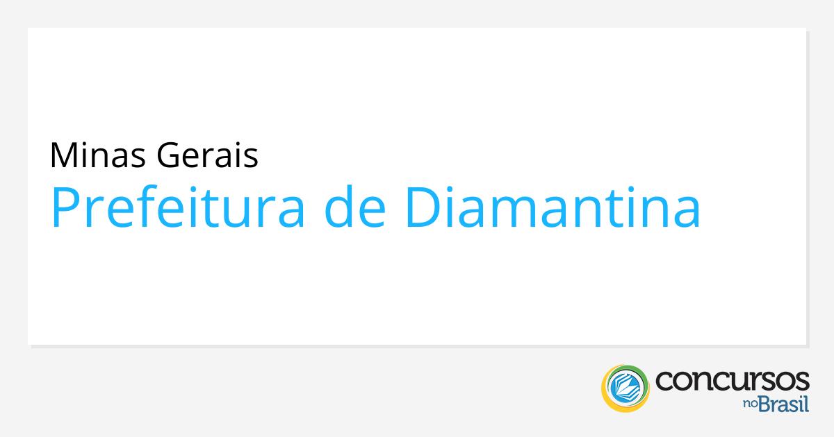 Concurso Prefeitura De Diamantina Mg Edital E Inscrição